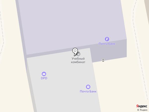 Богородский межшкольный учебный комбинат на карте Богородска