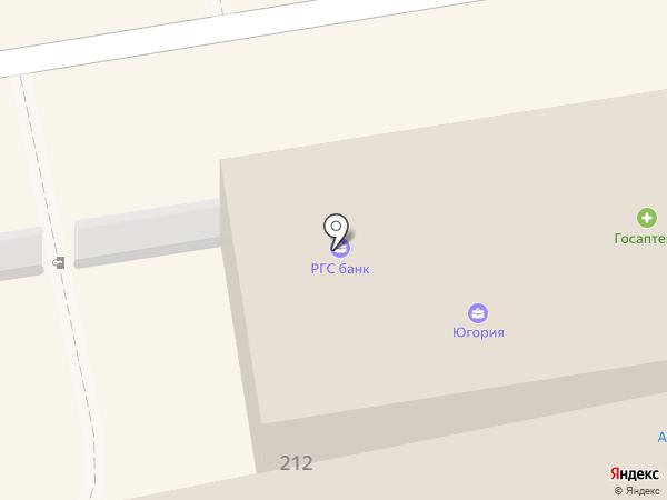 Магазин тканей на карте Богородска
