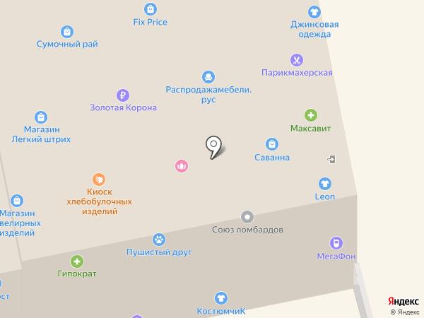 Florange на карте Богородска