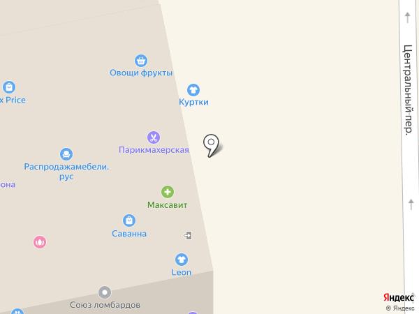 Гламурная леди на карте Богородска