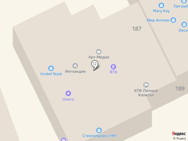 Право на карте Богородска