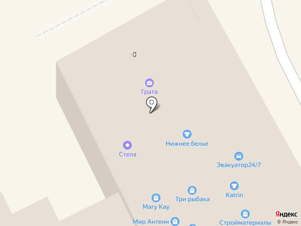 Грата на карте Богородска