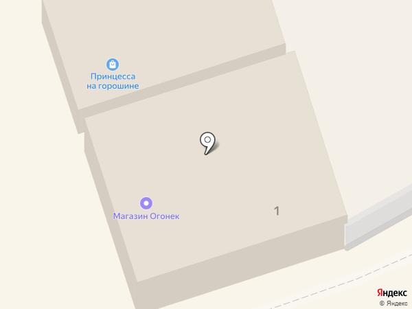 Афоня на карте Богородска