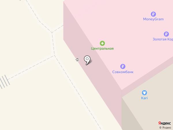 Садория на карте Богородска