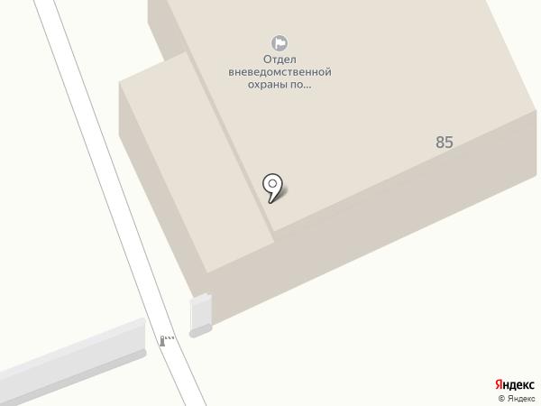 Отдел вневедомственной охраны по Богородскому району на карте Богородска