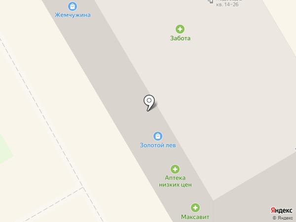 Максавит на карте Богородска