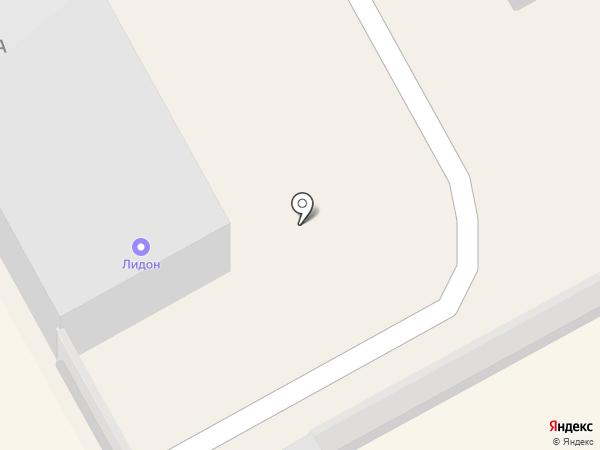 Лидон на карте Богородска