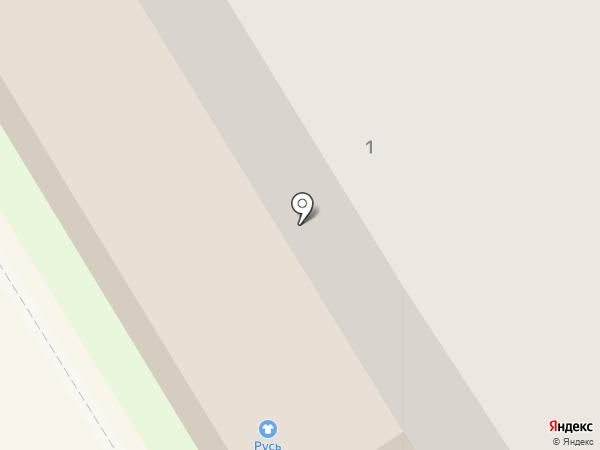 Растяпино на карте Богородска
