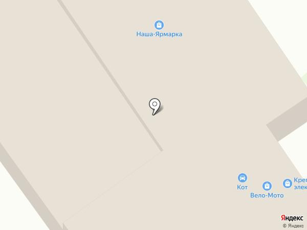 Теплый дом на карте Богородска