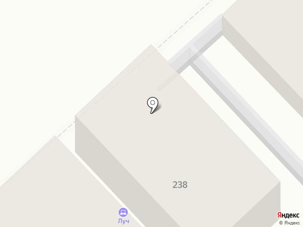 Луч на карте Богородска