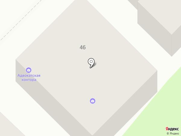 Адвокатская контора Богородского района на карте Богородска