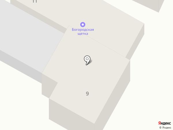 Викмос на карте Богородска