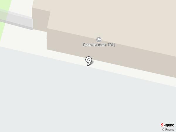 Т Плюс, ПАО на карте Дзержинска