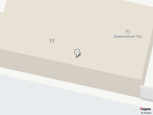 ТГК-6 на карте Дзержинска