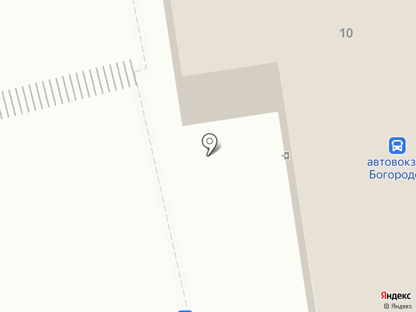 Автовокзал г. Богородска на карте Богородска