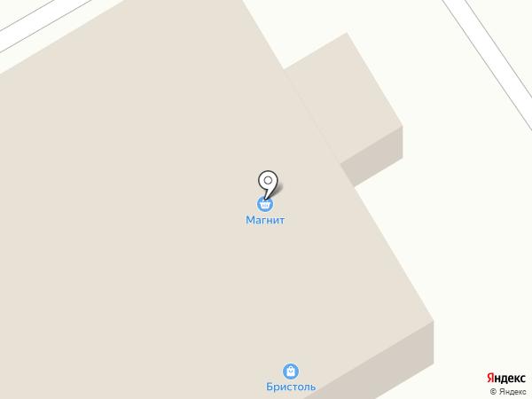 Бристоль на карте Гидроторфа
