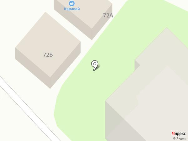 Каравай на карте Богородска