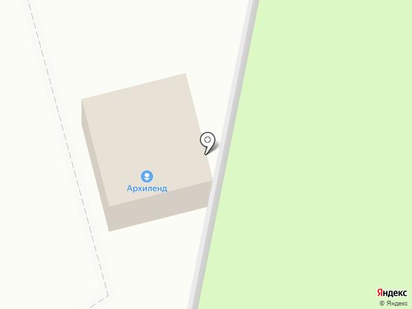 Архиленд на карте Березовки