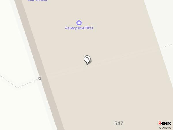 Завод органических продуктов на карте Дзержинска