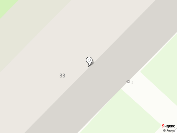 Первомайская поселковая библиотека на карте Первого Мая