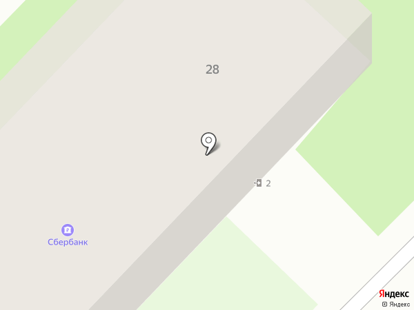 Почтовое отделение на карте Первого Мая