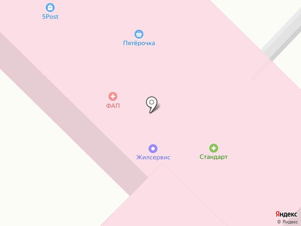 Малинка на карте Первого Мая