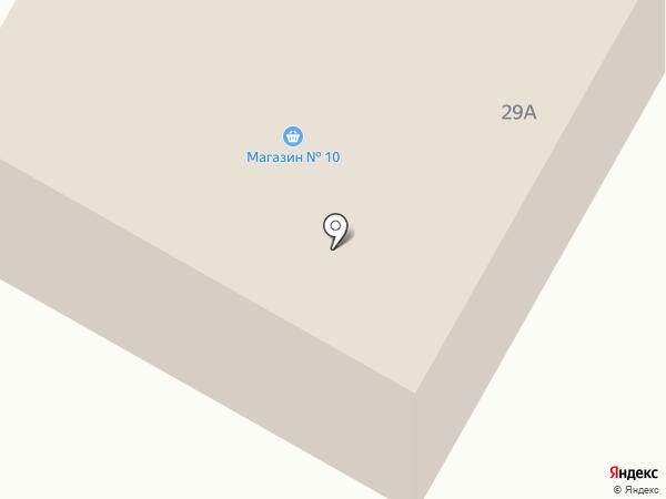 Магазин стройматериалов на карте Большого Козино