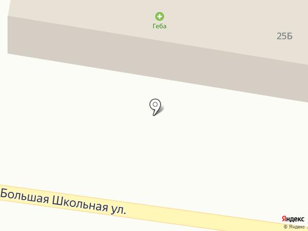 Продуктовый магазин на карте Большого Козино