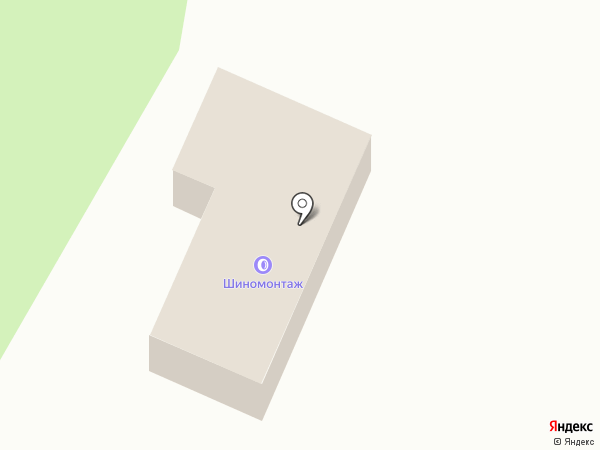 Шиномонтажная мастерская на карте Нижнего Новгорода