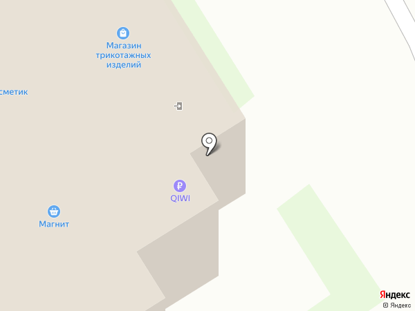 Магазин трикотажных изделий на карте Нижнего Новгорода