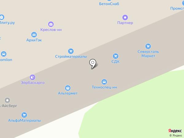 Skay-Net на карте Нижнего Новгорода