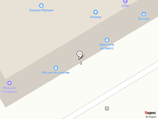 Бристоль на карте Нижнего Новгорода