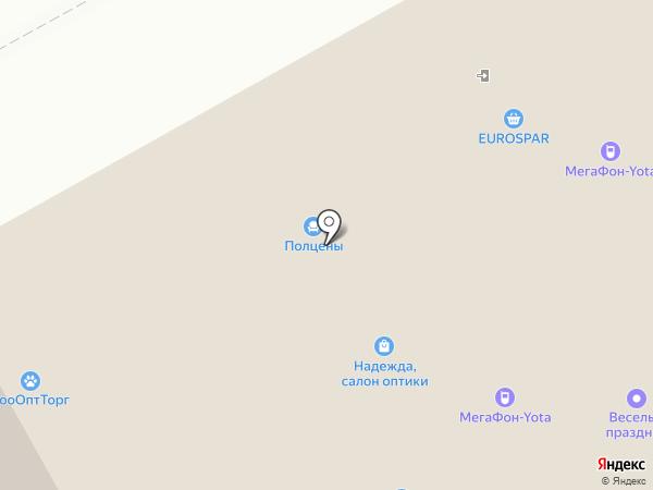 Столичный гардероб на карте Нижнего Новгорода