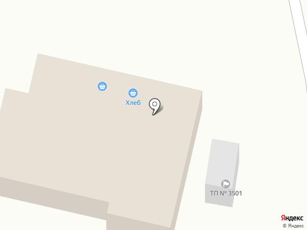 Магазин хлеба на карте Нижнего Новгорода
