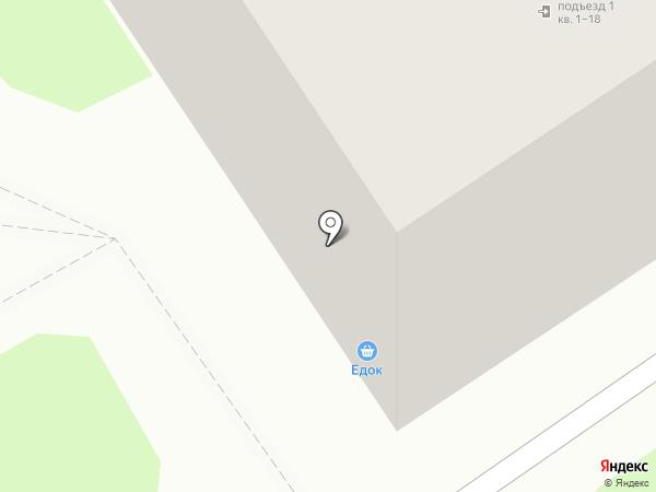 Едок на карте Нижнего Новгорода