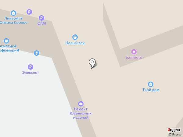 Лекарь на карте Нижнего Новгорода