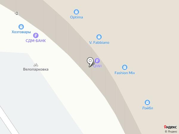 Огонек на карте Нижнего Новгорода