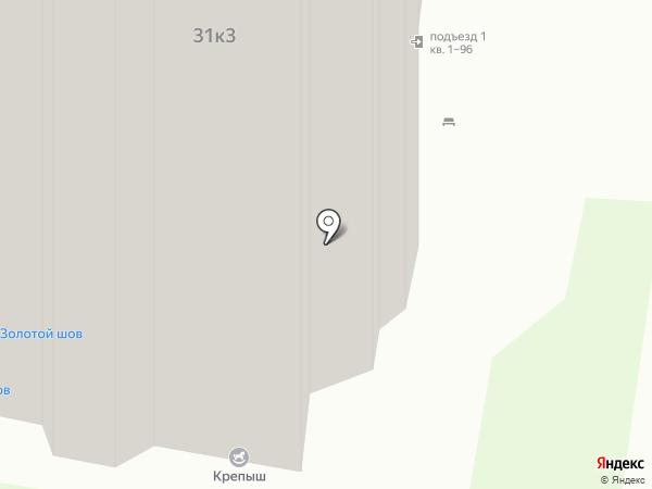 Крепыш на карте Нижнего Новгорода