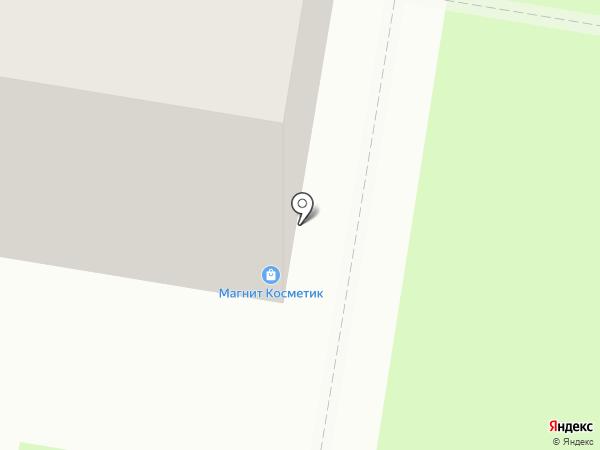 Сушилка Lounge на карте Нижнего Новгорода