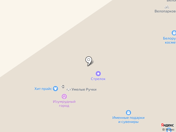 Лавандерия на карте Нижнего Новгорода