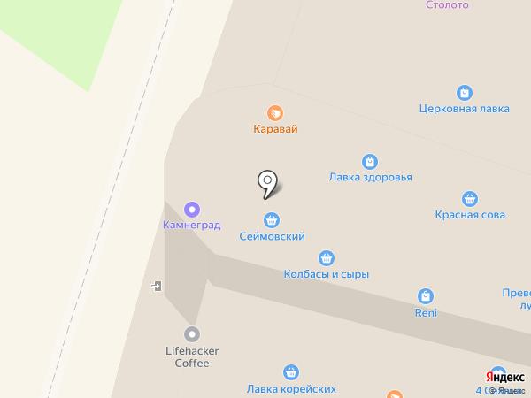 Абсолют на карте Нижнего Новгорода