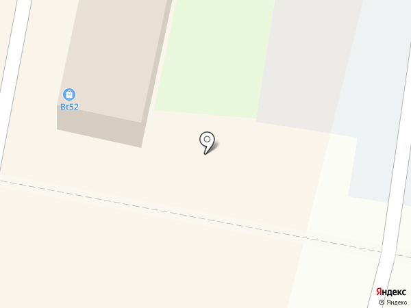 Киоск фастфудной продукции на карте Нижнего Новгорода