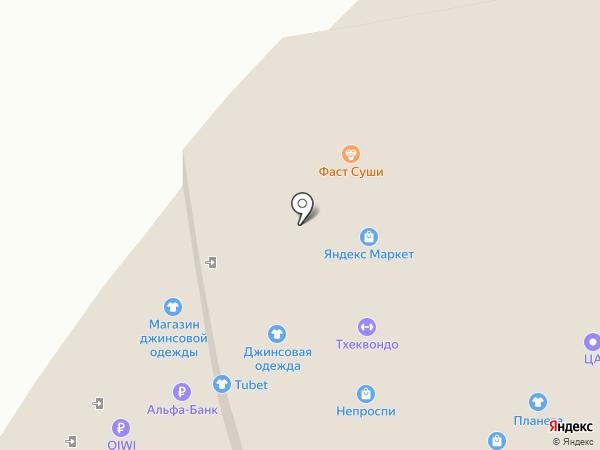 Колобок на карте Нижнего Новгорода