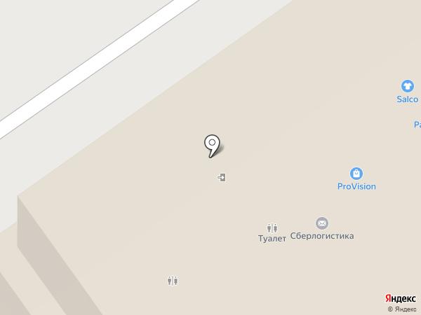 Магазин товаров для маникюра на карте Нижнего Новгорода