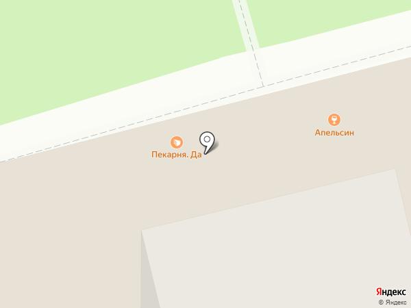Апельсин на карте Нижнего Новгорода