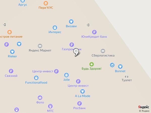 Podium на карте Нижнего Новгорода