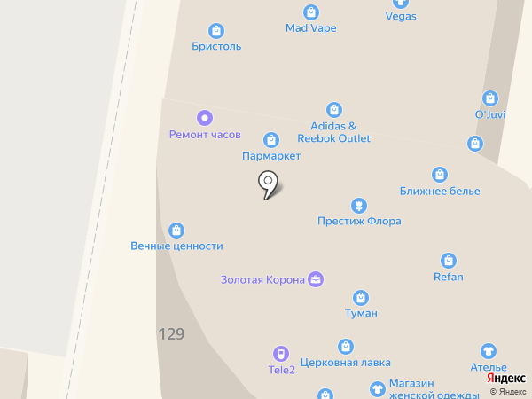 Магазин радиотоваров на карте Нижнего Новгорода