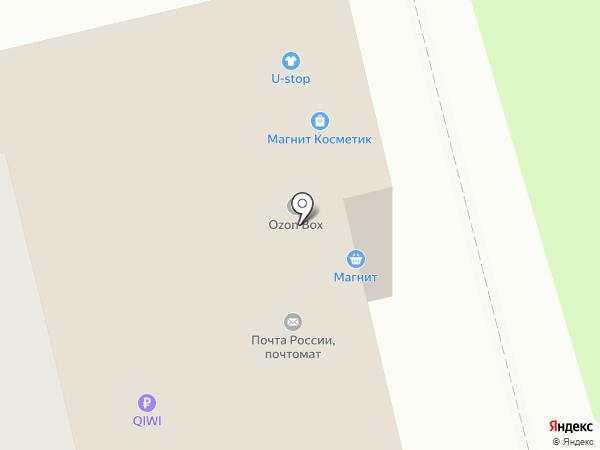 Аббат-НН на карте Нижнего Новгорода