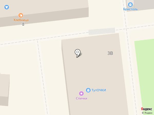 Вау на карте Нижнего Новгорода
