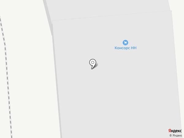 Магазин-склад на карте Нижнего Новгорода